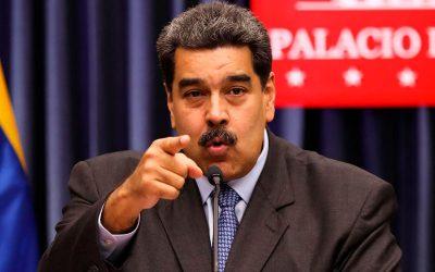 Maduro acusa a Colombia por recibir delincuentes de su país