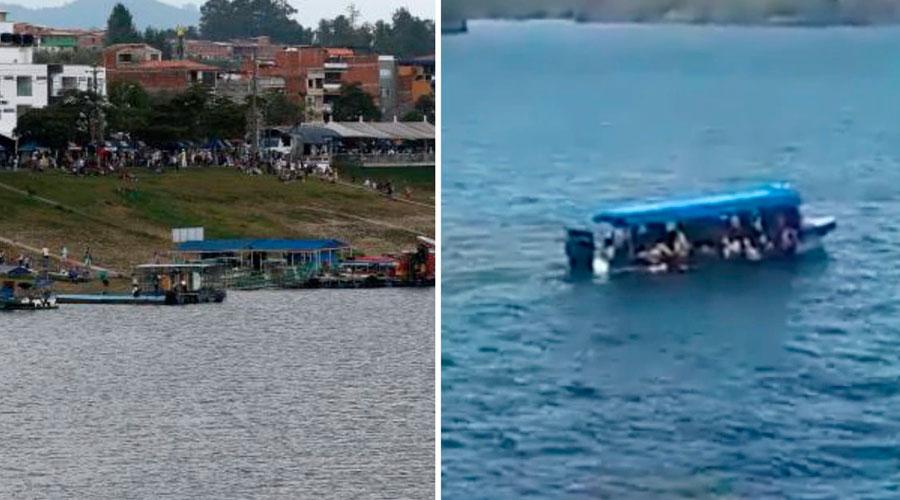 ACCIDENTE ACUÁTICO EN EMBALSE PEÑOL-GUATAPÉ