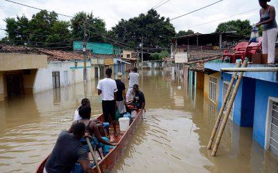 LAS LLUVIAS SEGUIRÁN CAUSANDO DESASTRES EN 8 DEPARTAMENTOS