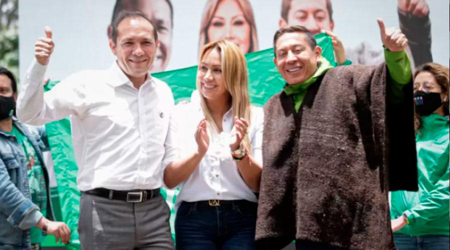 ALIANZA VERDE Y SU PRIMERA TERNA DE CANDIDATOS