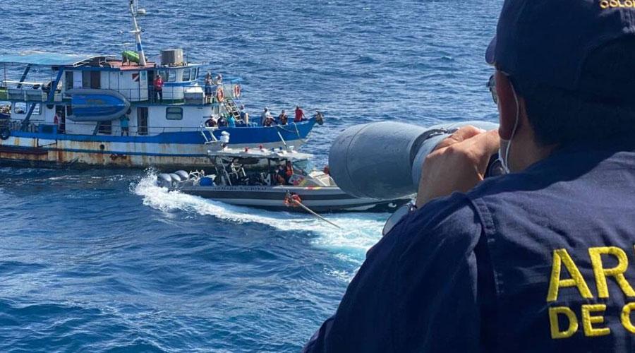 Después de 2 años en el mar rescatan a Sandra Bessudo