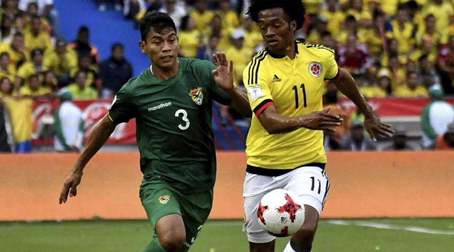 Bolivia vs. Colombia hoy 3 pm