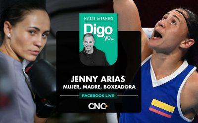 JENNY ARIAS, MUJER, MADRE Y BOXEADORA