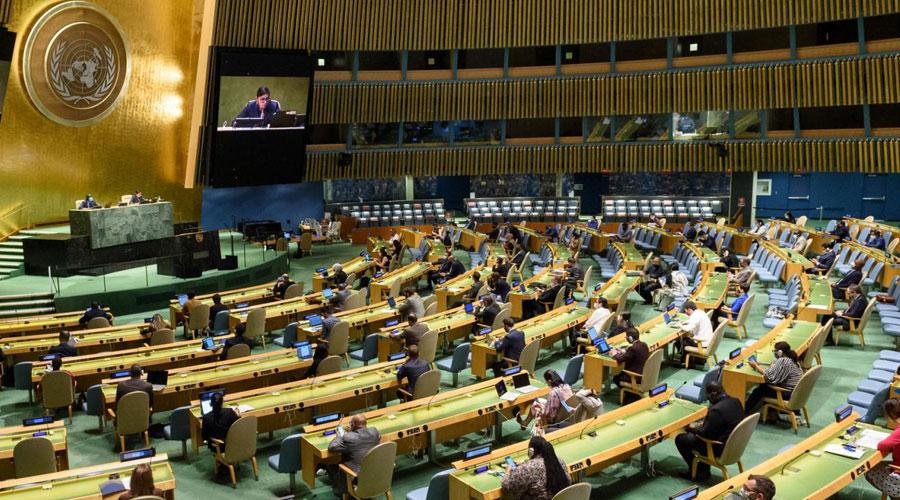 Contagios de COVID en convención de la ONU