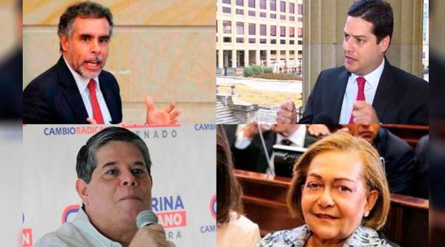 4 SENADORES INVESTIGADOS POR CASO MINTIC
