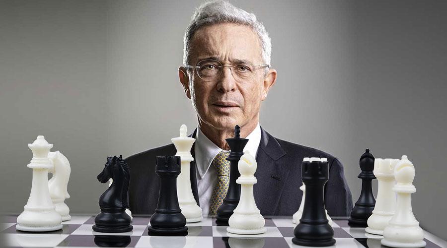 El Ajedrez de Álvaro Uribe para el 2022