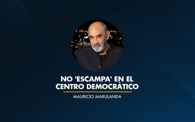 No 'Escampa' en el Centro Democrático