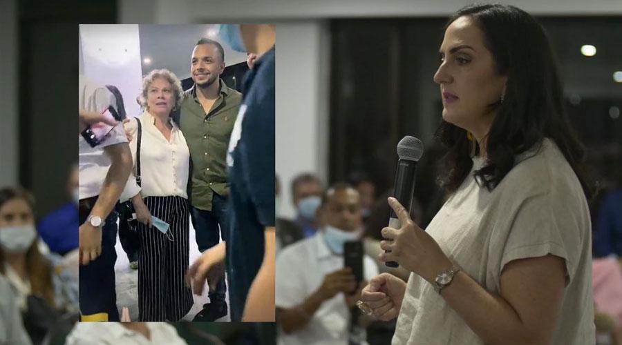 Andrés Escobar y su apoyo a María Fernanda Cabal