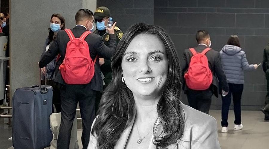 Karen Abudinen se fue a Washington